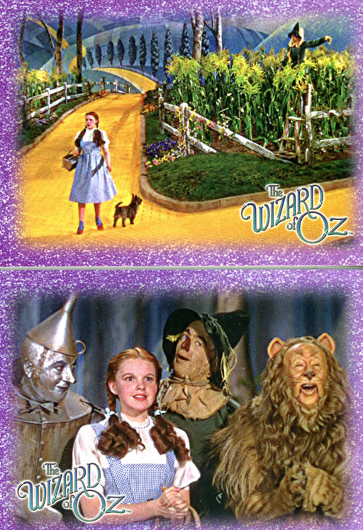 Wizard of Oz Season 1 Breygent Binder Promo Card Set 2 Cards   - TvMovieCards.com