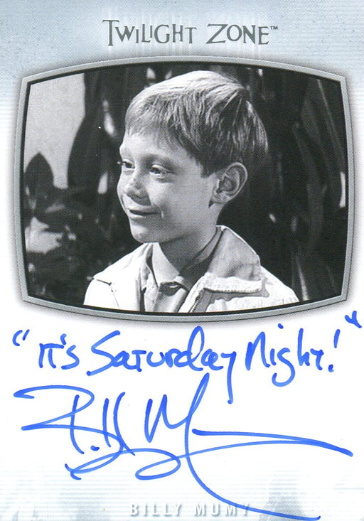 Twilight Zone Archives 2020 Bill Mumy It's Saturday Night! Autograph Card AI-23   - TvMovieCards.com