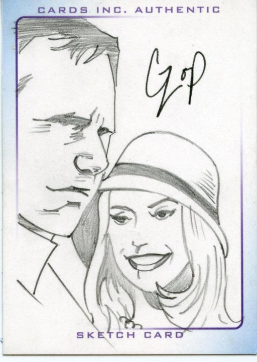 Thunderbirds Are Go! Movie Sketch Card by Czop Tracey/ Lady Penelope   - TvMovieCards.com