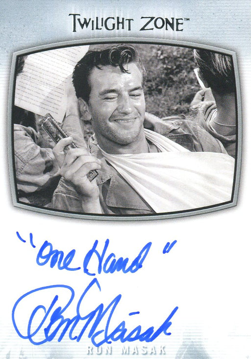 Twilight Zone Archives 2020 Ron Masak One Hand Autograph Card AI-25   - TvMovieCards.com
