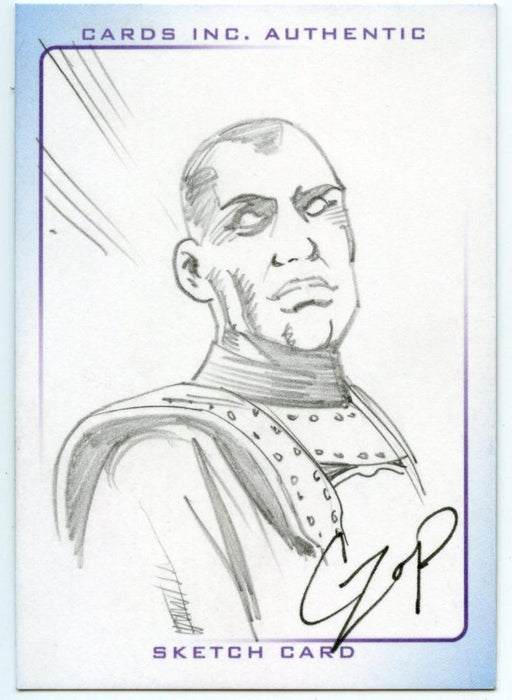 Thunderbirds Are Go! Movie Sketch Card by Czop The Hood   - TvMovieCards.com