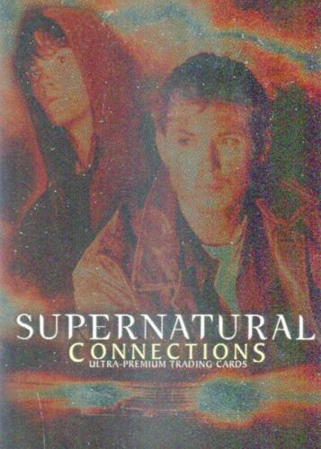 Supernatural Connections Foil Internet Exclusive Promo Card   - TvMovieCards.com