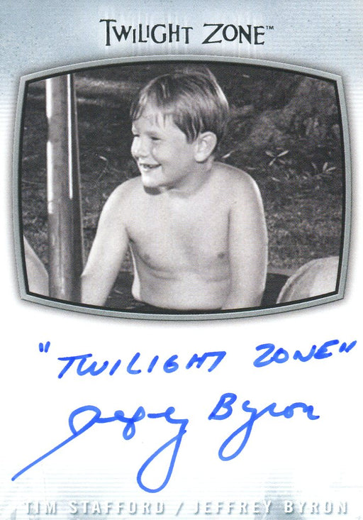 "Twilight Zone Archives 2020 Jeffrey Byron ""Twilight Zone"" Autograph Card AI-32   - TvMovieCards.com"