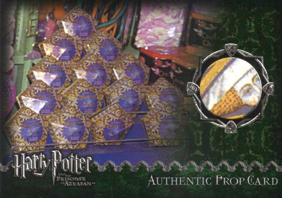 Harry Potter and the Prisoner of Azkaban Chocolate Frog Prop Card HP #59/86 Front