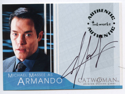 Catwoman Movie Michael Massee as Armando Autograph Card A-3   - TvMovieCards.com