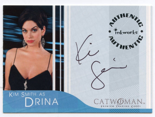 Catwoman Movie Kim Smith as Drina Autograph Card A-4   - TvMovieCards.com