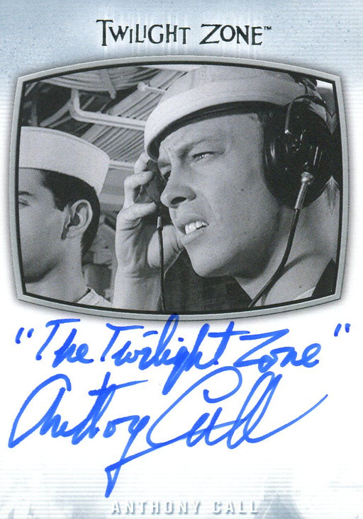 "Twilight Zone Archives 2020 Anthony Call ""Twilight Zone"" Autograph Card AI-33   - TvMovieCards.com"