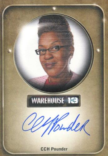 Warehouse 13 Premium Packs Season 3 CCH Pounder as Irene Frederic Autograph Card Front