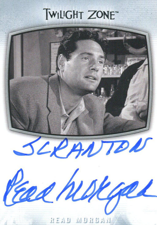 "Twilight Zone Archives 2020 Read Morgan ""Scranton"" Autograph Card AI-34   - TvMovieCards.com"