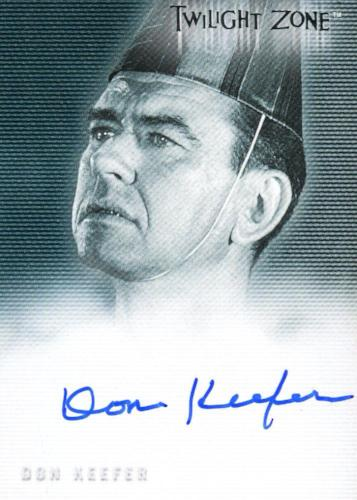 Twilight Zone 2 The Next Dimension Don Keefer Autograph Card A-28 Front