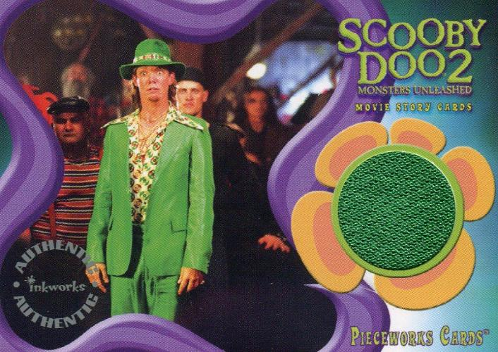 Scooby Doo2 Monsters Unleashed Shaggy Pieceworks Costume Card PW-4   - TvMovieCards.com