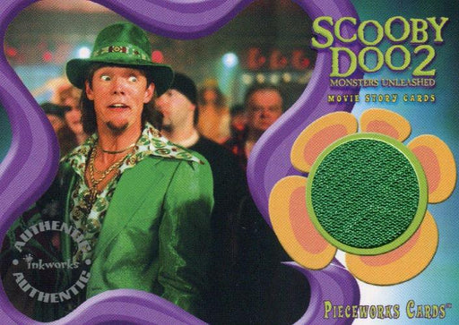 Scooby Doo2 Monsters Unleashed Shaggy Pieceworks Costume Card PW-5   - TvMovieCards.com