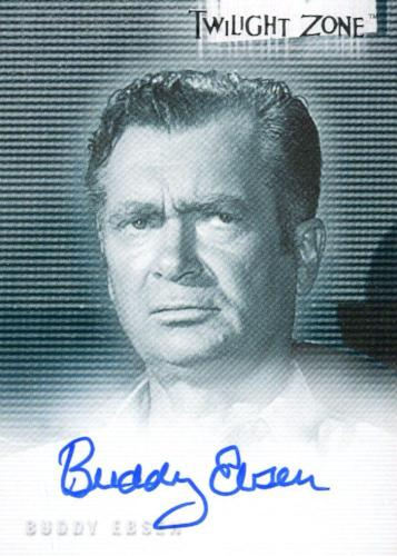 Twilight Zone 2 The Next Dimension Buddy Ebsen Autograph Card A-34 Front