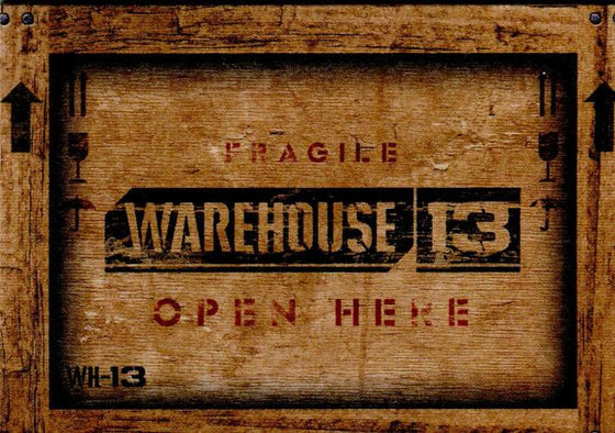Warehouse 13 Premium Packs Season 3 Snag It Bag It Tag It Chase Card Set 9 Cards Front