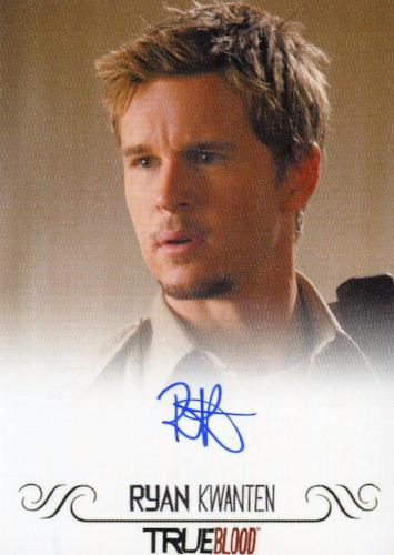 True Blood Archives Ryan Kwanten Autograph Card Front1