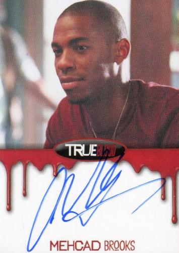 True Blood Season 7 Mehcad Brooks Autograph Card Front1
