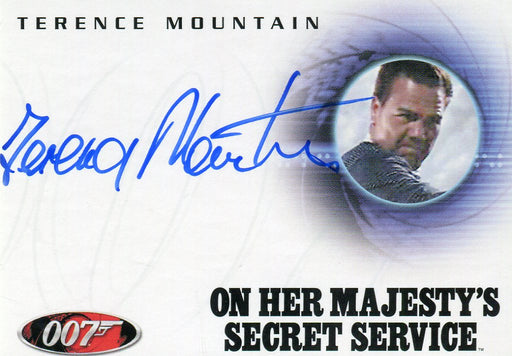 James Bond in Motion 2008 Terence Mountain as Raphael Autograph Card A84   - TvMovieCards.com