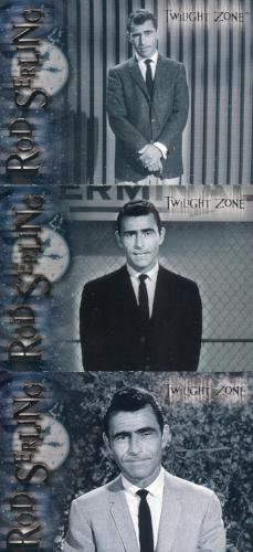 Twilight Zone 2 The Next Dimension Rod Serling Chase Card Set   - TvMovieCards.com