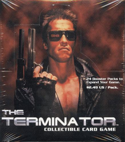 The Terminator CCG Booster Game Card Box 24 pack   - TvMovieCards.com