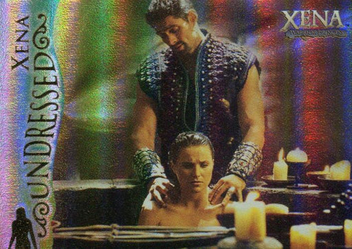 Xena Seasons 4 and 5 Xena Undressed Chase Card U2   - TvMovieCards.com