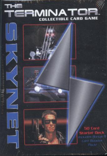 The Terminator CCG Starter Game Card Theme Deck - Skynet   - TvMovieCards.com
