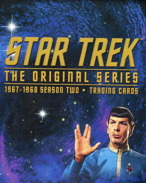 Star Trek The Original Series Season 2 TOS 1967-1968 Empty Collector Card Album   - TvMovieCards.com