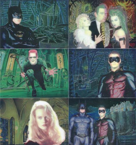 Batman Forever Animaction Foil Chase Card Set 10 Cards Fleer Ultra 1995   - TvMovieCards.com