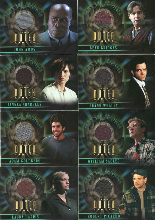 Outer Limits Sex, Cyborgs & Science Fiction Costume Card Lot 8 Cards   - TvMovieCards.com