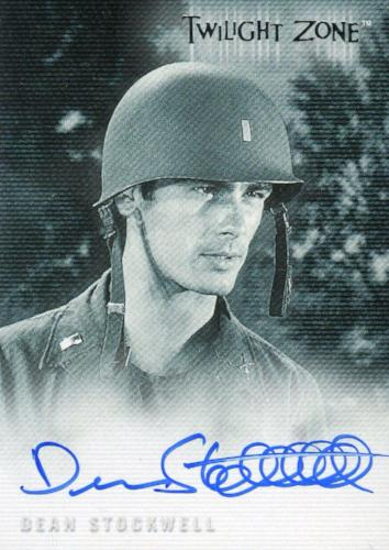 Twilight Zone 3 Shadows and Substance Dean Stockwell Autograph Card A-39 Front