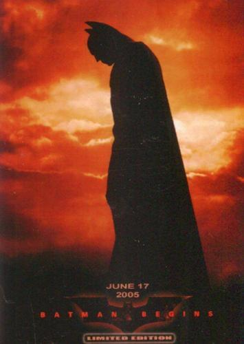 Batman Begins Limited Edition Video Promo Card #21/50 Flash International   - TvMovieCards.com