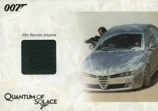 James Bond Archives 2014 Edition Alfa Romeo Interior Relic Card JBR38 #206/275   - TvMovieCards.com