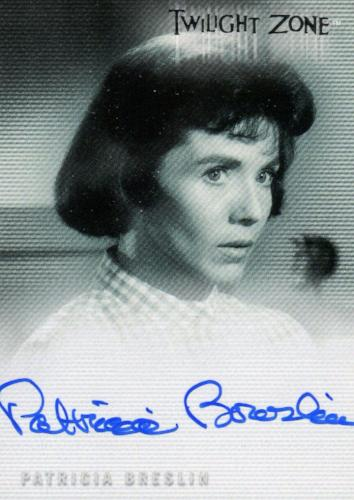 Twilight Zone 3 Shadows and Substance Patricia Breslin Autograph Card A-40 Front