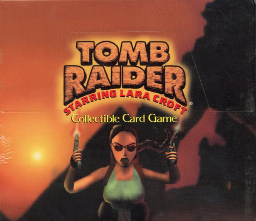 Tomb Raider CCG Starter Game Card Box 10 Quest Theme Decks   - TvMovieCards.com