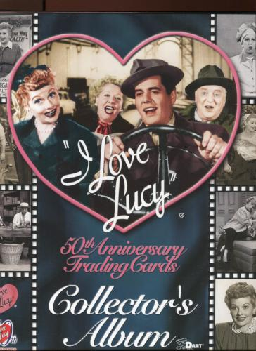 Lucy I Love Lucy 50th Anniversary Empty Collector Card Album   - TvMovieCards.com