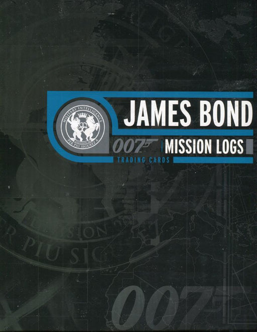 James Bond Mission Logs Collector Card Album with Promo Card P3   - TvMovieCards.com