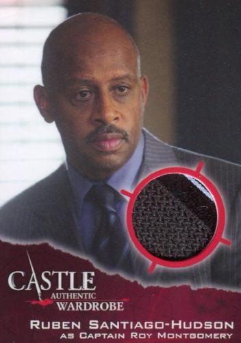 Castle Seasons 3 & 4 Captain Roy Montgomery Wardrobe Costume Card M04   - TvMovieCards.com