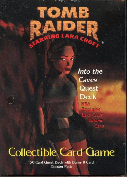 Tomb Raider CCG Starter Game Card Theme Deck Into The Caves Quest   - TvMovieCards.com