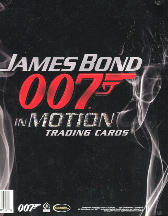 James Bond in Motion Collector Card Album with Autograph & Promo P2   - TvMovieCards.com