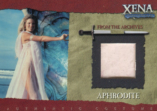 Xena Season Six Aphrodite Costume Card R3   - TvMovieCards.com