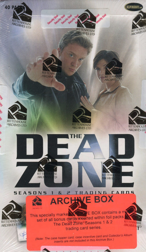 Dead Zone Seasons 1 & 2 Archive Card Box   - TvMovieCards.com