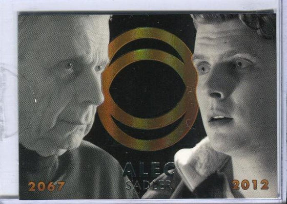 Continuum Seasons 1 & 2 Future Self Case Topper Chase Card CT1 #018/100 Front