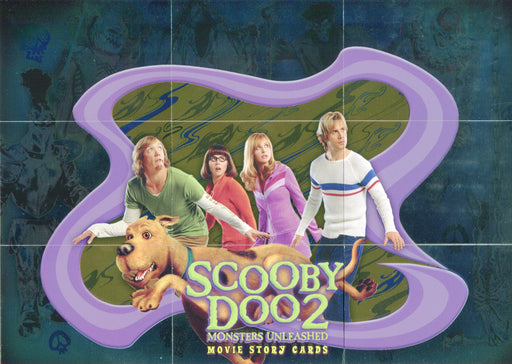 Scooby Doo 2 Monsters Unleashed Foil Puzzle Chase Card Set MU-1 thru MU-9   - TvMovieCards.com