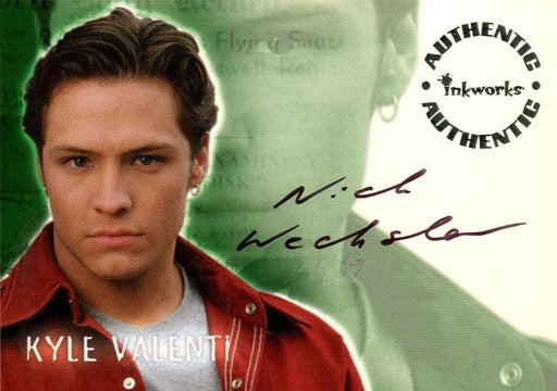 Roswell Season One Nick Wechsler as Kyle Valenti Autograph Card A4   - TvMovieCards.com