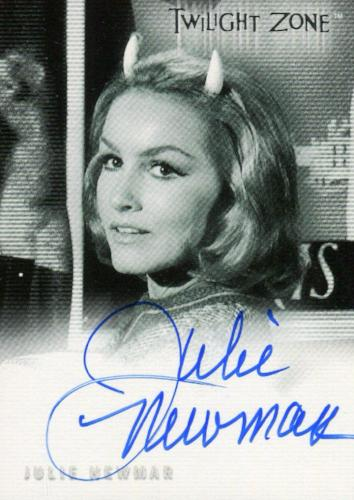 Twilight Zone 3 Shadows and Substance Julie Newmar Autograph Card A-50   - TvMovieCards.com