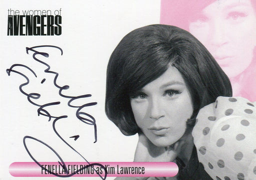 Avengers TV The Women Fenella Fielding as Kim Lawrence Autograph Card WAFF   - TvMovieCards.com