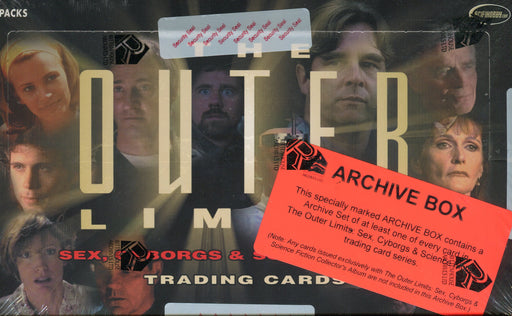 Outer Limits Sex, Cyborgs & Science Fiction Archive Card Box   - TvMovieCards.com