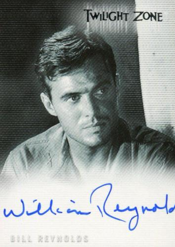 Twilight Zone 3 Shadows and Substance Bill Reynolds Autograph Card A-55   - TvMovieCards.com