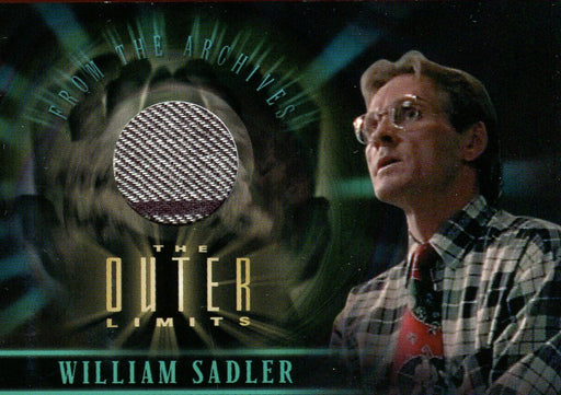 Outer Limits Sex, Cyborgs & Science Fiction William Sadler Costume Card CC8   - TvMovieCards.com