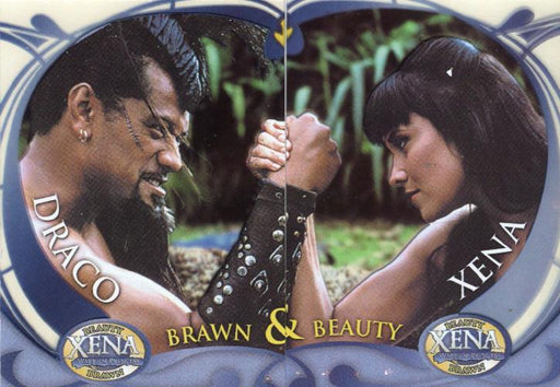 Xena Beauty and Brawn Limited Cell Chase Card Set BB1 BB2   - TvMovieCards.com
