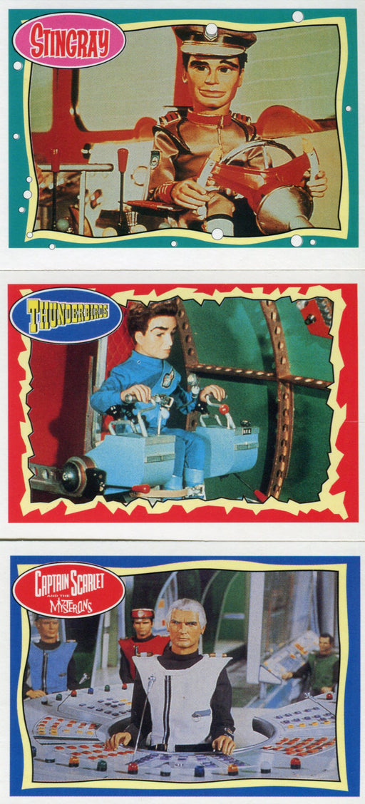 The Best of Stingray, Thunderbirds and Captain Scarlet 66 Card Set   - TvMovieCards.com